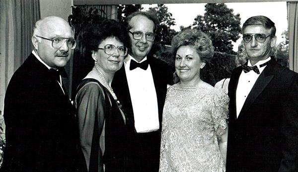 Joann S. Ozog na balu w 1987 roku fot.archiwum MPA