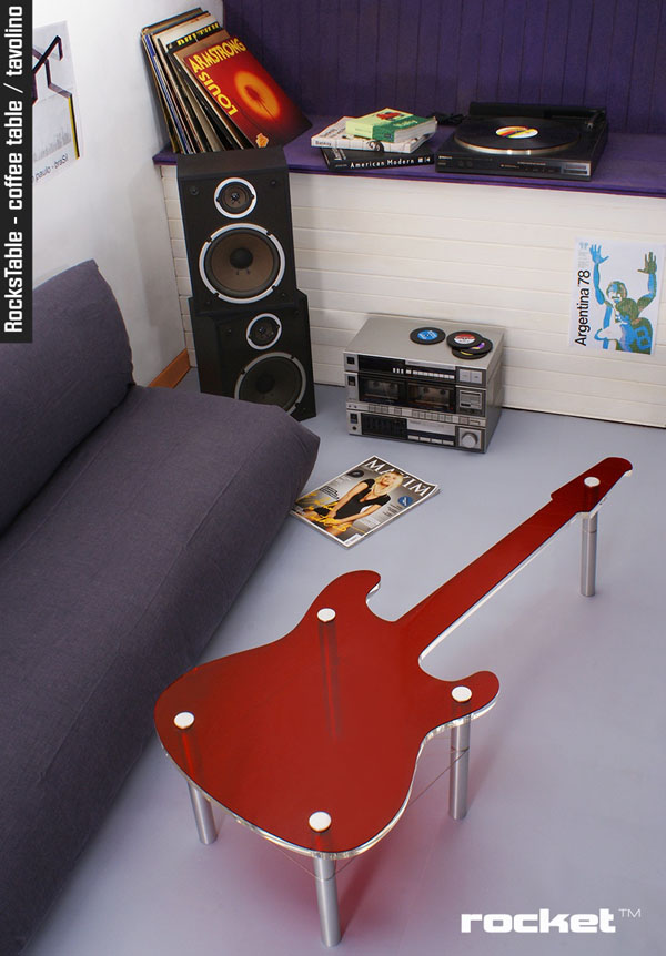 Musical instruments inspired Furniture by Rocket Design - 06