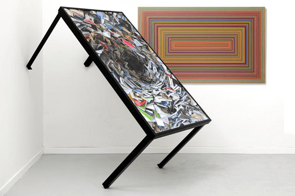 Table Tops Dressed Into Pieces Of Art: Art.is.table