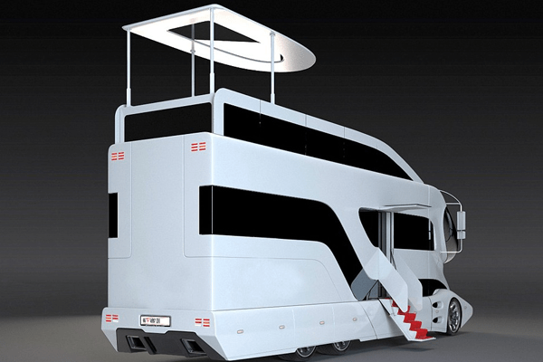 Luxury camper at us 3 million elemment palazzo by marchi for Million dollar motor homes