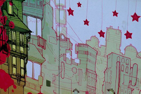 Pink City Detail (John Thomson)