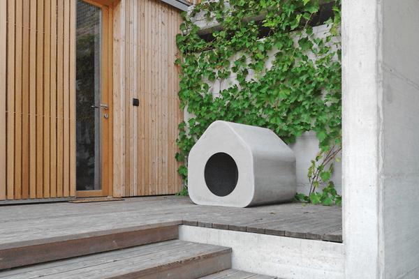 Poetic Forms Of Fibre Cement Garden Furniture