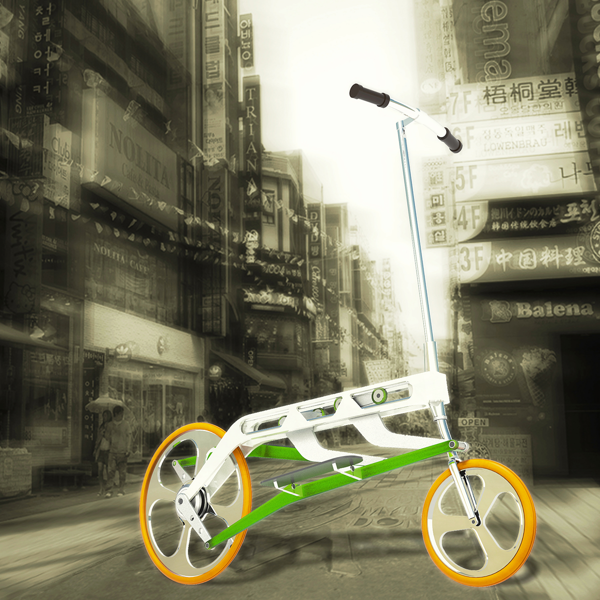 A radical new bicycle for the urban commuter  - 06