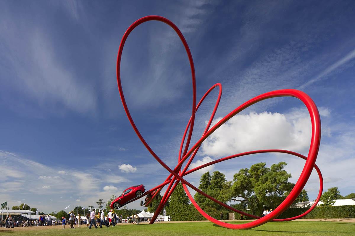 Alfa Romeo Centenary Sculpture designed by Gerry Judah - 04