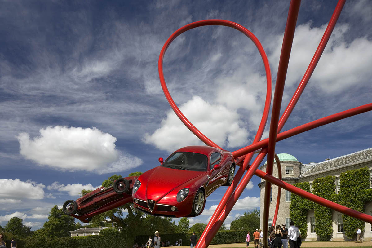 Alfa Romeo Centenary Sculpture designed by Gerry Judah - 05