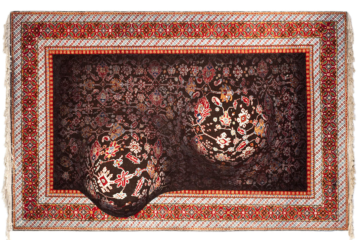 Faig Ahmed's modern interpretations of traditional carpet design -10