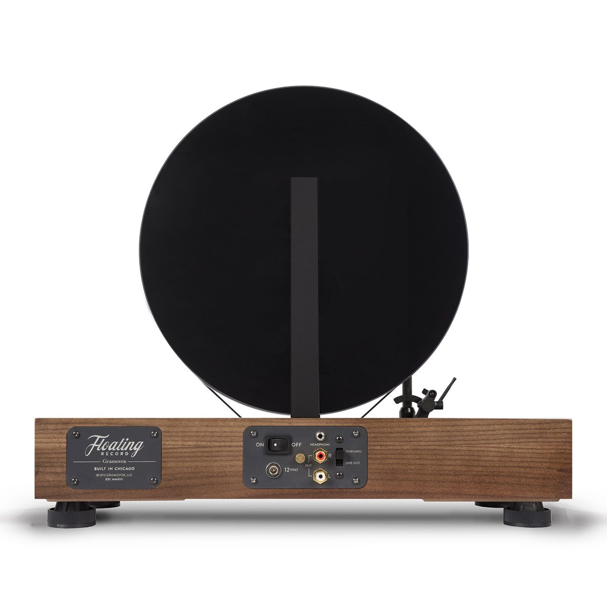 Floating record player by Gramovox - 06