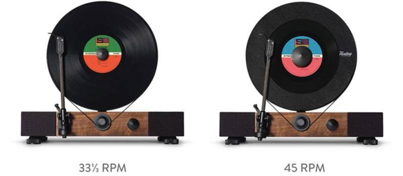 Floating record player by Gramovox - 08