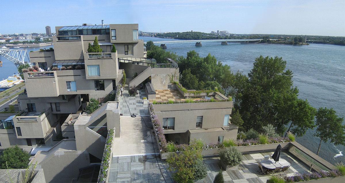Habitat 67 - Brutalist Architecture in Montreal by Moshe Safdie - 03