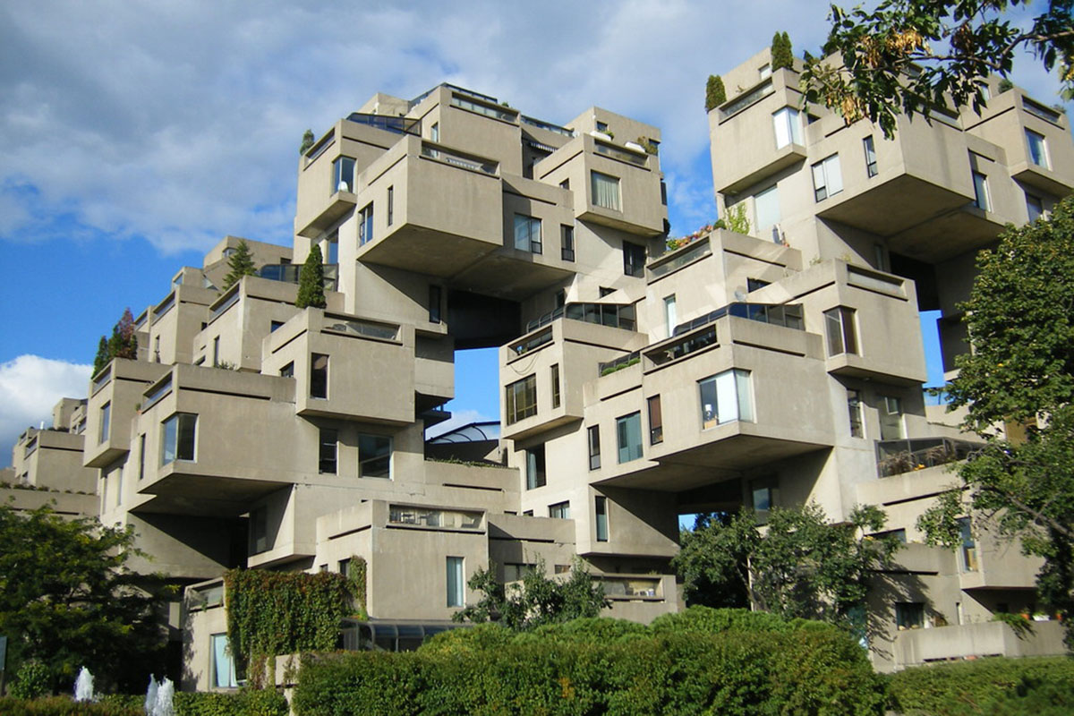 Habitat 67 - Montreal's Prefabricated city by Moshe Safdie