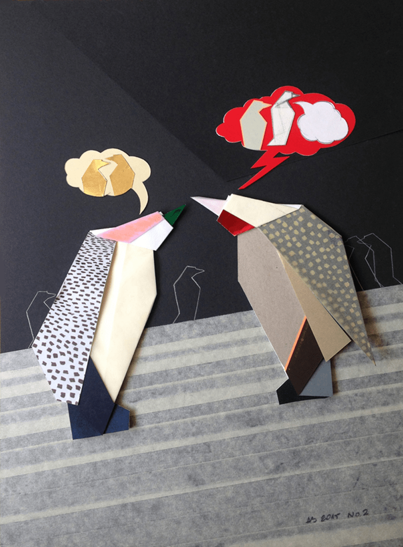 It's a Penguin's Life at the Art Basel 2015 - 06
