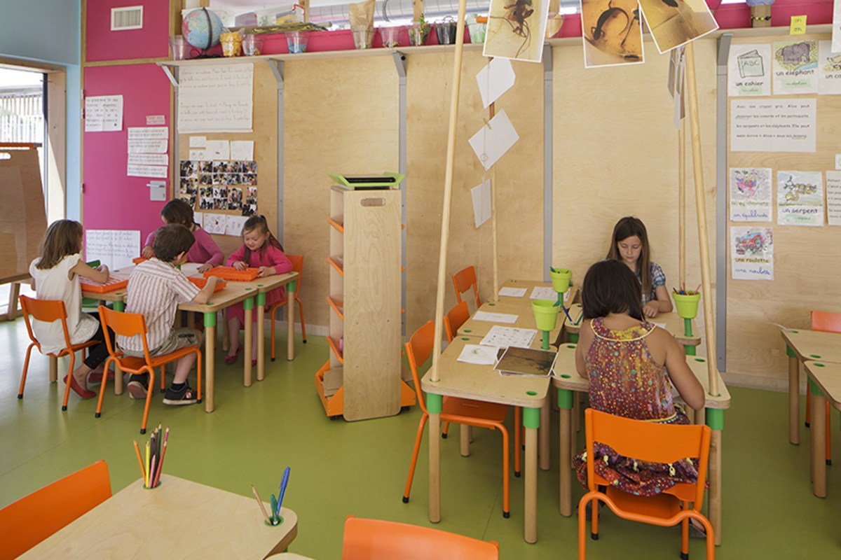 Le Ble en Herbe Scool in France by Designer Matali Crasset - 10