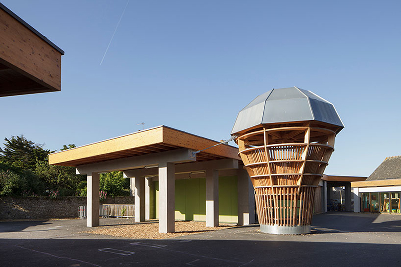 Le Ble en Herbe Scool in France by Designer Matali Crasset - 11