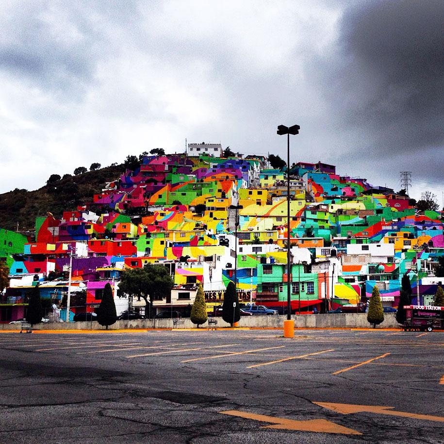 Macro Mural in Mexico by Germen Crew - 09