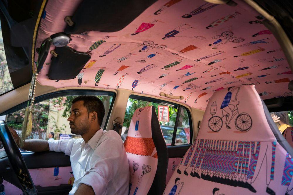 Mumbai Taxi Fabric Project - 07
