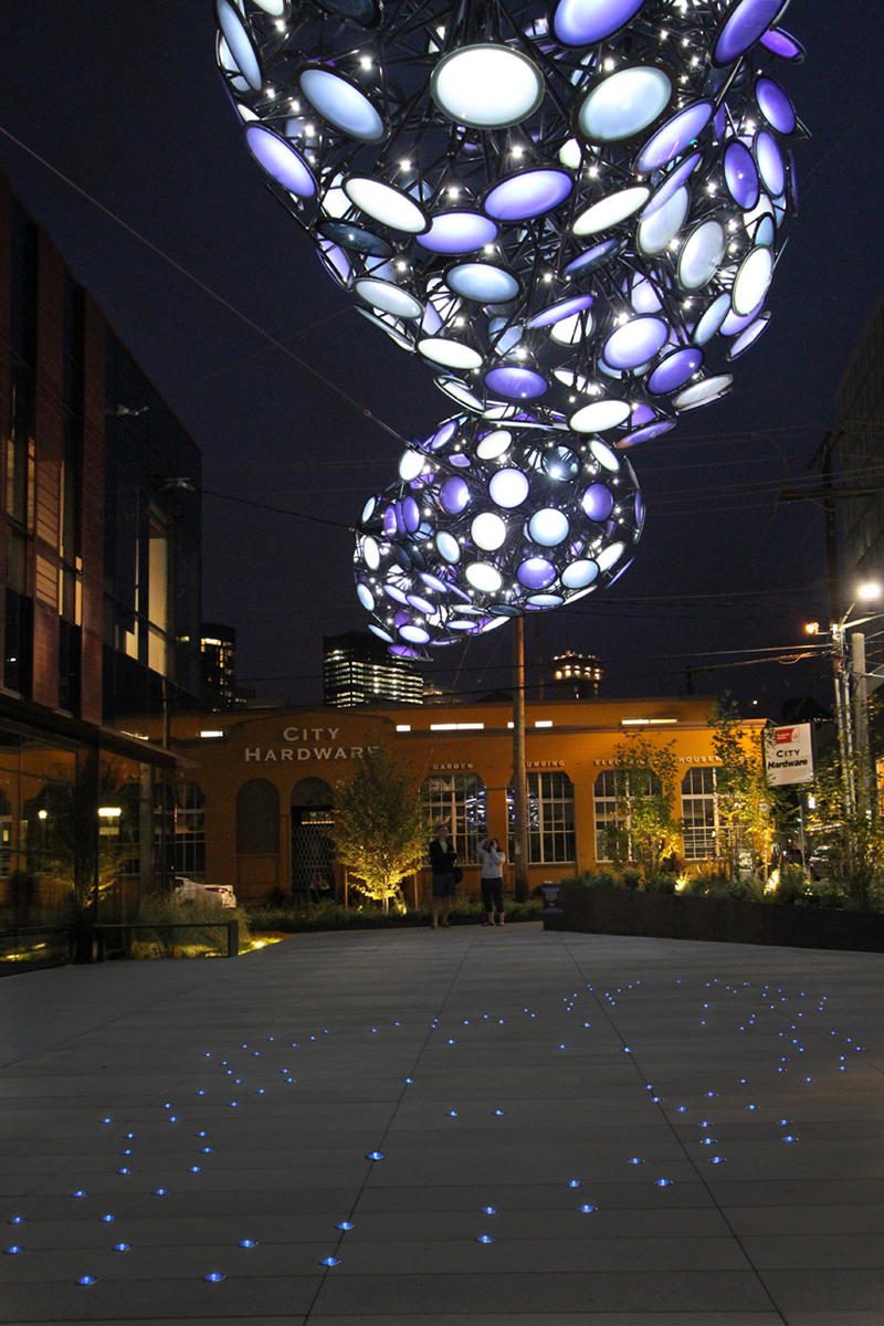 Nebulous - Light Installation by Dan Corson - 06