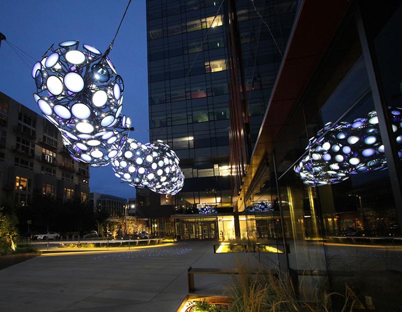 Nebulous - Light Installation by Dan Corson - 07