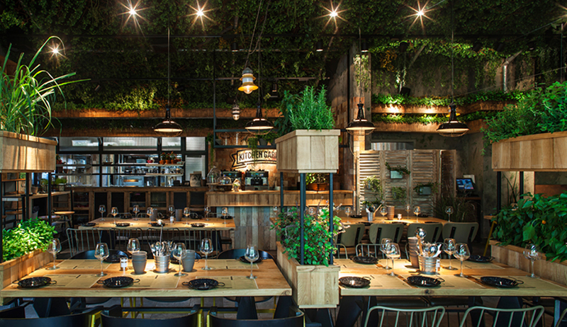 Segev Kitchen Garden Restaurant in Israel by Studio Yaron Tal - 01