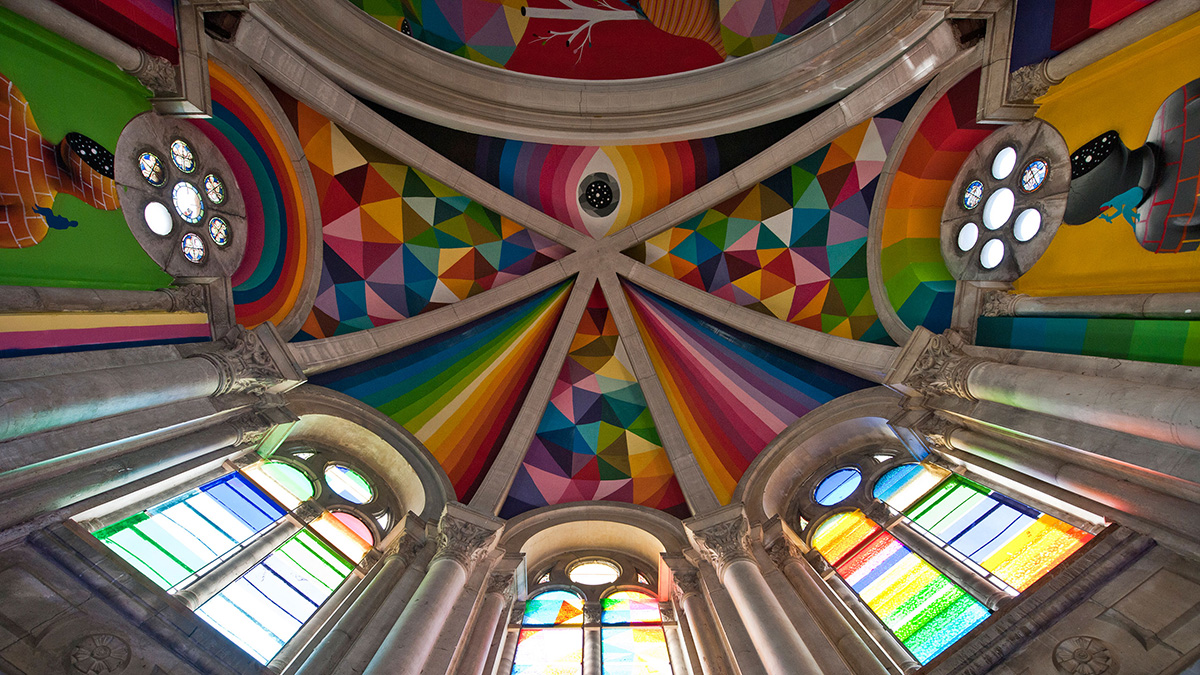 Skate Church in Spain receives a personal touch by artist Okuda San Miguel - 11