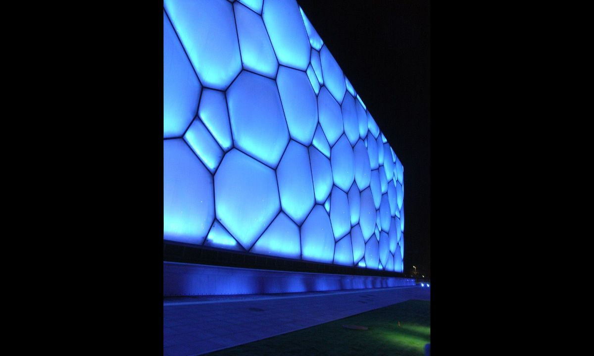 The Watercube at the Olympics Games in China - 03