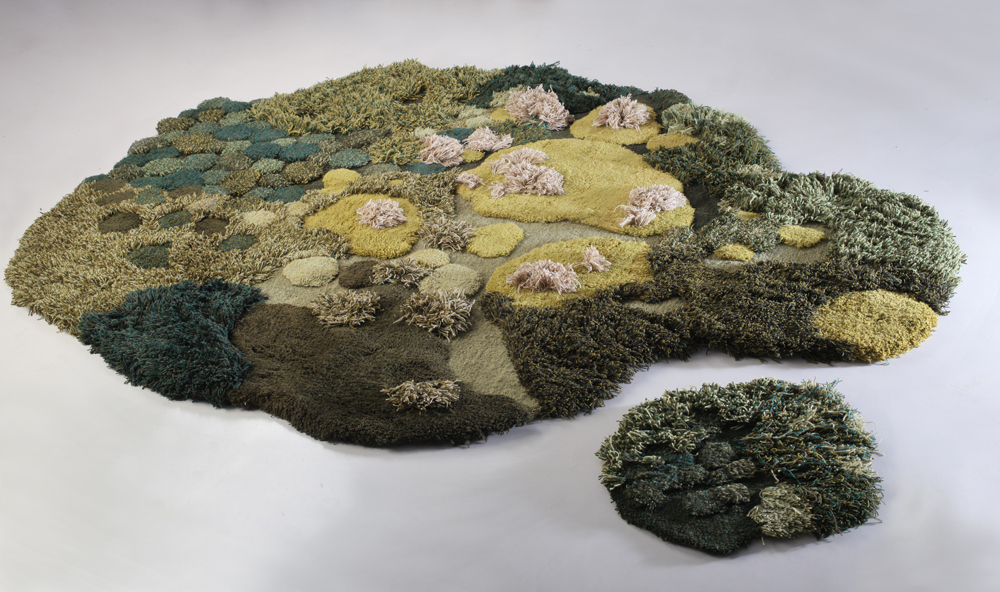 Wool carpets and area rugs by artist Alexandra Kehayoglou - 02