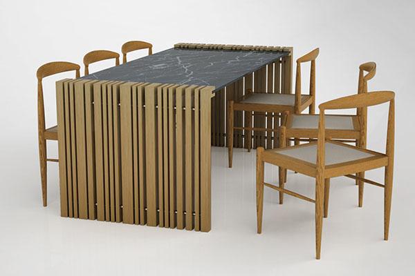 modular dining table by neptun ozis - Modular Dining Room