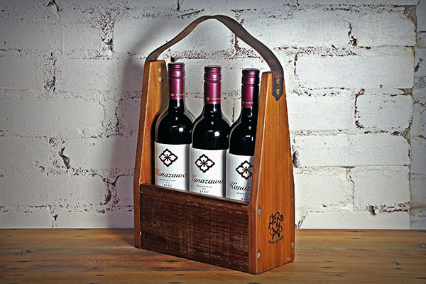 wooden-bag-by-hobo-woodworks-Wine Holder