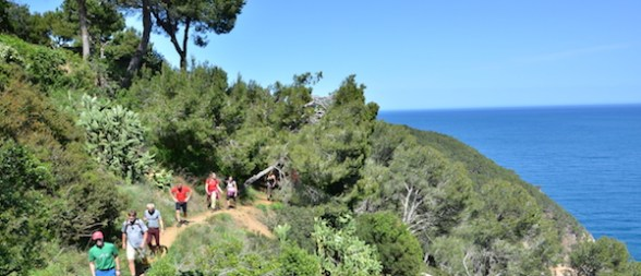 Vandring Costa Brava Katalonien Spanien 10
