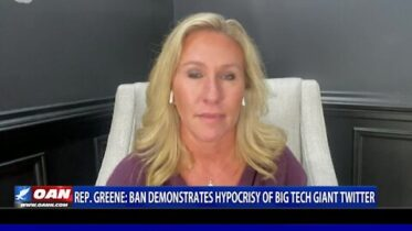 Rep. Greene: Ban demonstrates hypocrisy of Big Tech giant Twitter