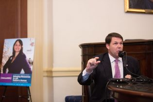 WASHINGTON, DC - MAY 23: Congressman Jodey Arrington (R-TX) at SiriusXM's Congressional Veterans Forum at the Cannon House Office Building on May 23, 2017 in Washington, DC. (Photo by Tasos Katopodis/Getty Images for SiriusXM)