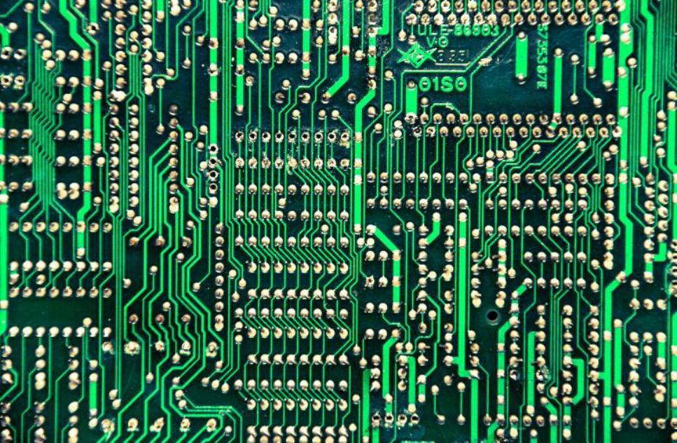 Simple Circuit Board 1 Layer Simple Circuit Board