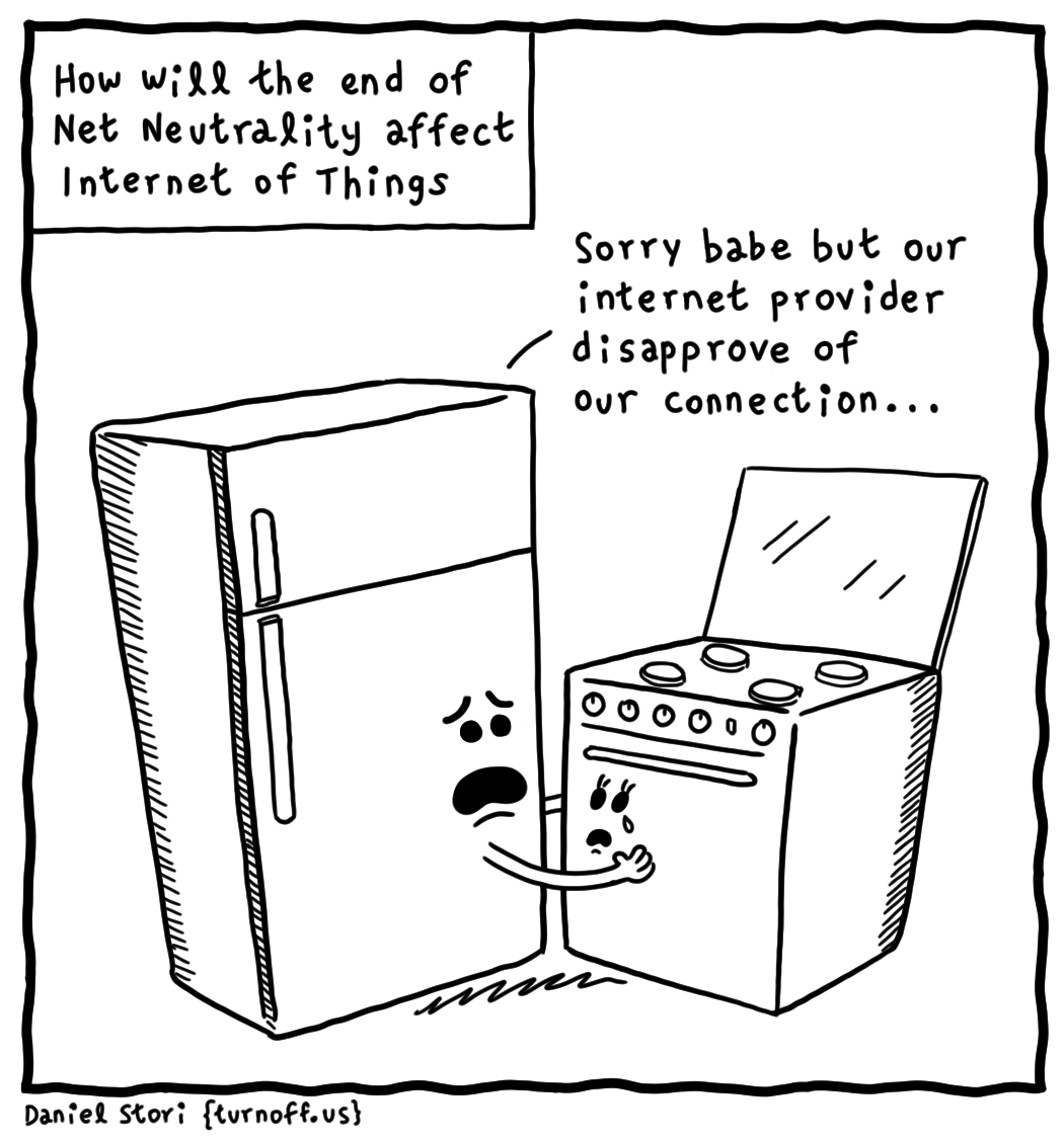 How Will The End of Net Neutrality Affect IoT [Comic