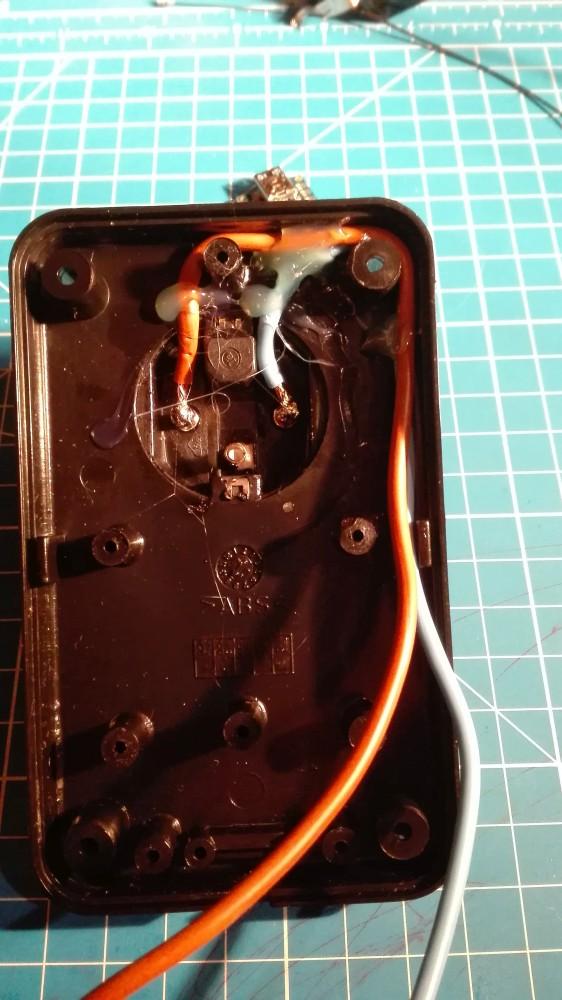 Zapojenie konektorov krabičky