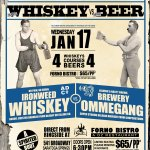 Whiskey Vs. Beer Dinner at Forno Bistro