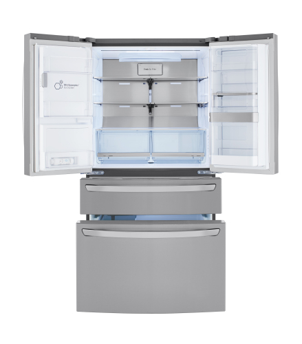 Lg Lrmdc2306s 23 Cu Ft Smart Wi Fi Enabled Counter Depth Refrigerator With Craft Ice Maker Lrmdc2306s Mighty Young S Appliance