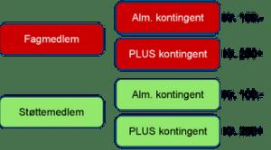 Medlemstyperogkontingen