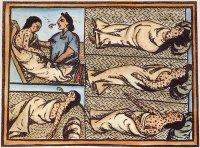 Мексиканские индейцы, больные оспой