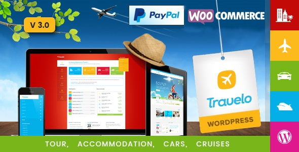 Tema Wordpress Travelo