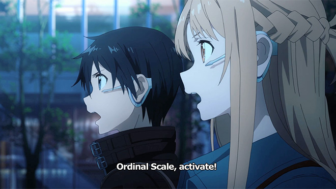 Hula Girl Wallpaper Sword Art Online The Movie Ordinal Scale Official Guild