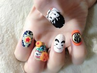 ball nails art design dragon ball nails 1 7 tokyo otaku ...
