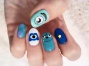 monsters . nail art tokyo