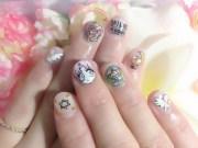sailor moon chibiusa nails