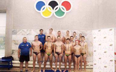 Jaunieji Alytaus vandensvydininkai sporto vilčių žaidynėse užėmė trečią vietą