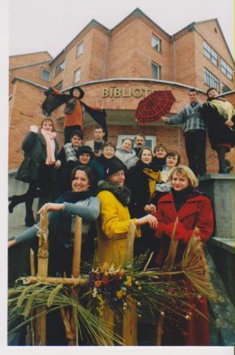 27-eri Alytaus J. Kunčino viešosios bibliotekos metai - pilni iššūkių ir pokyčių 21