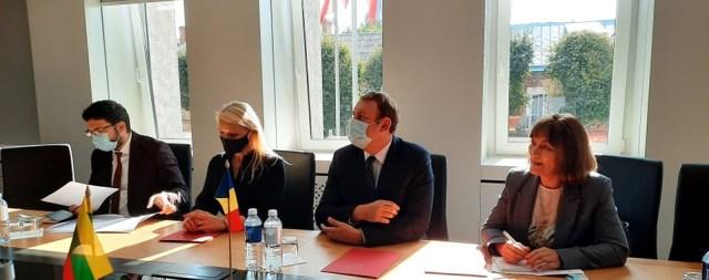Rumunijos ambasadorius Alytuje: tiesia tiltus su Focsani miestu 22