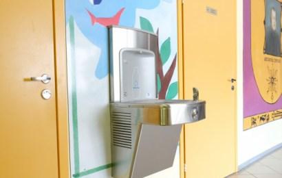 Geriamojo vandens fontanėliai-gertuvės Alytaus mokyklose
