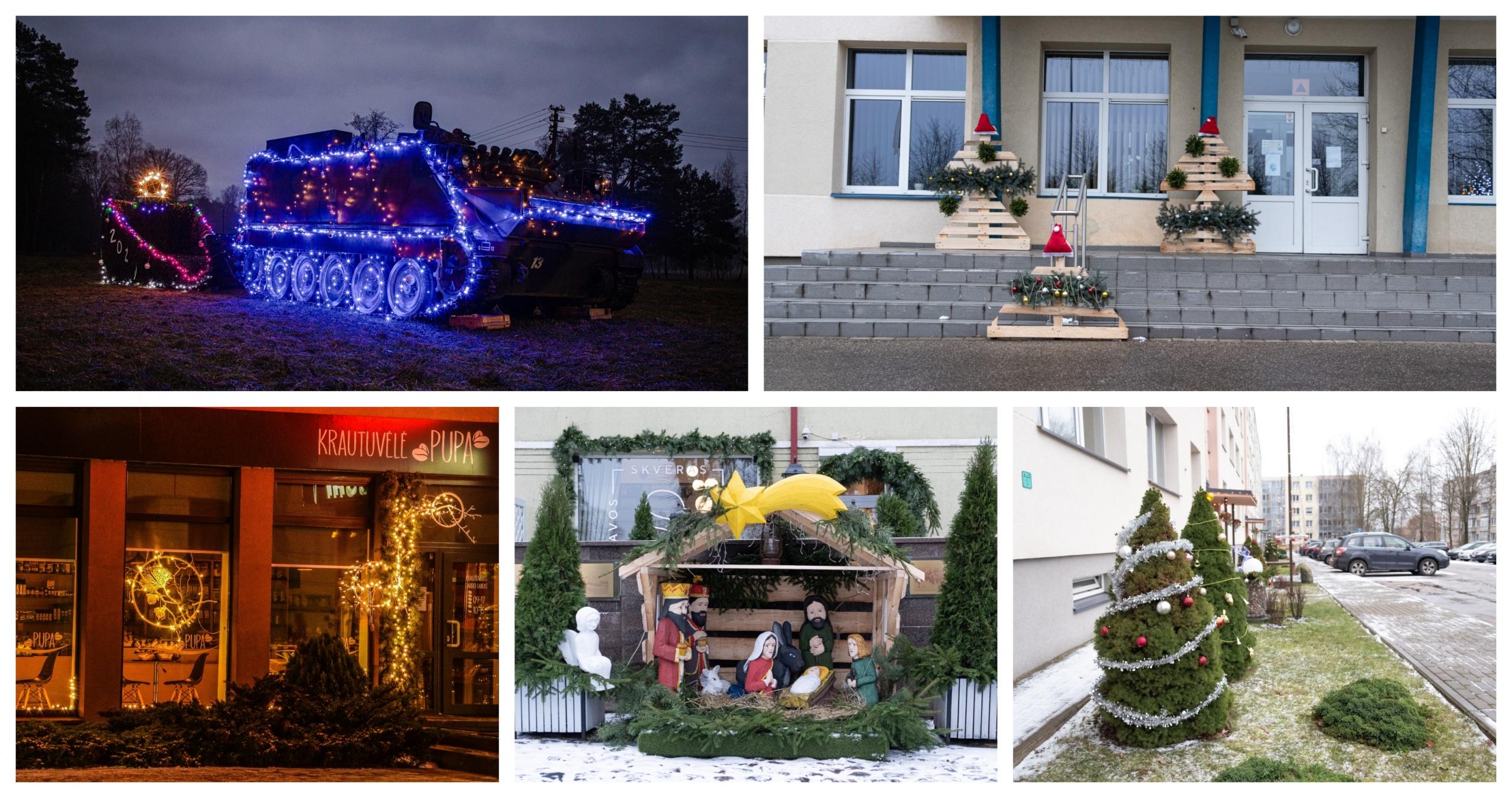 Kalėdiškas Alytus: išrinkti konkurso nugalėtojai 20