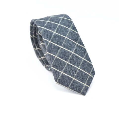 Brun Grey Tie