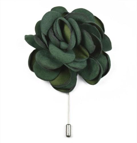 Καρφίτσα Πέτου Big Flower Green