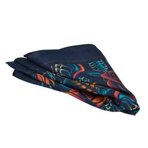 Μεταξωτό μαντήλι για σακάκι